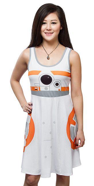 Star Wars BB-8 A-Line Dress