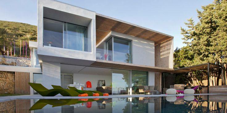 Amazing View Villa in Spanish Poolside patio