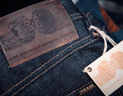 """Livid Jeans & Dundas Footwear Collaboration logo"" http://be.net/gallery/31644821/Livid-Jeans-Dundas-Footwear-Collaboration-logo"