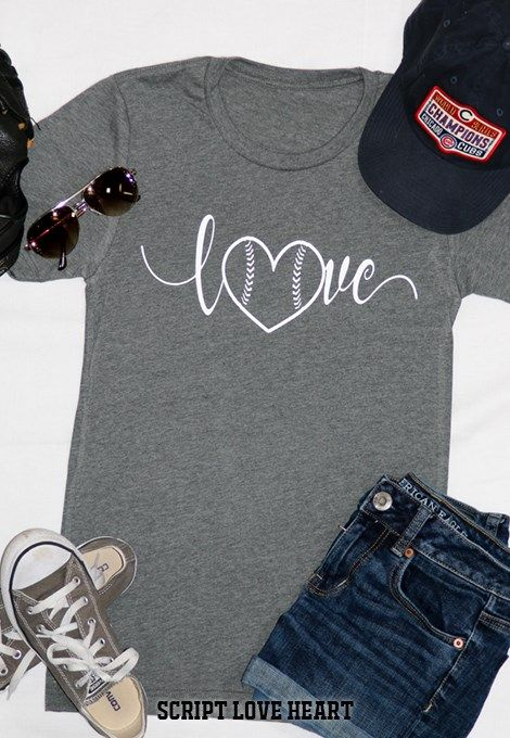Take me to the BALLGAME!!​ 3 simple, fun designs to show your LOVE for the game! All designs are in white and on soft, upgraded heather UNISEX shirts for a vintage look.  5 super soft Heather shirt colors available!