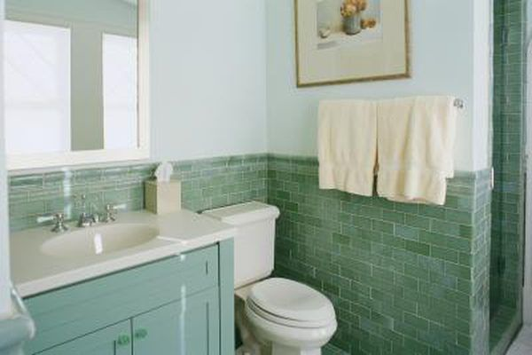 What Type Of Paint To Use On Bathroom Cabinets Green Bathroom Seafoam Green Bathroom Green Tile Bathroom