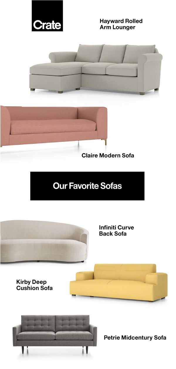 Our Favorite Sofas Cushions On Sofa Comfortable Sofa Vintage Industrial Bedroom