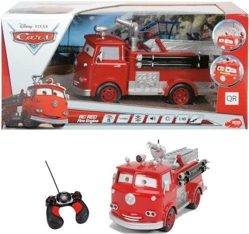 Disney® Cars - RC Red Fire Engine, 3-Kanal Funkfernsteuerung
