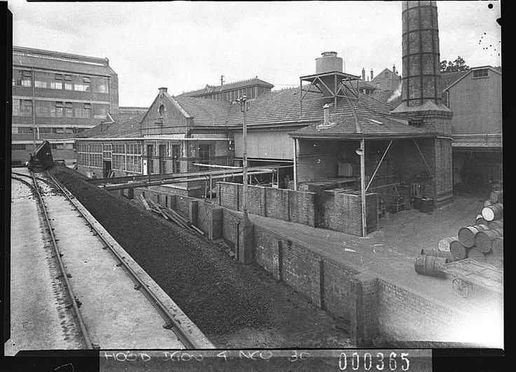Lever Brothers Factory in Balmain,Sydney in 1939.A♥W