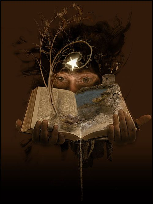 The Magic is waiting for you ...  all you have to do, is open the book!