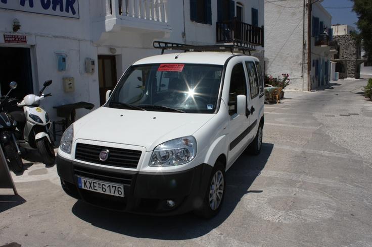 Eagle's Nest Car Rental - Fiat Doblo   7-8 Passengers