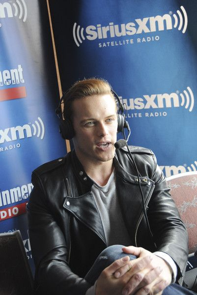 Sam Heughan Photos Photos - Actor Sam Heughan attends SiriusXM's Entertainment Weekly Radio Channel Broadcasts From Comic-Con 2015 at Hard Rock Hotel San Diego on July 10, 2015 in San Diego, California. - SiriusXM's Entertainment Weekly Radio Channel Broadcasts From Comic-Con 2015