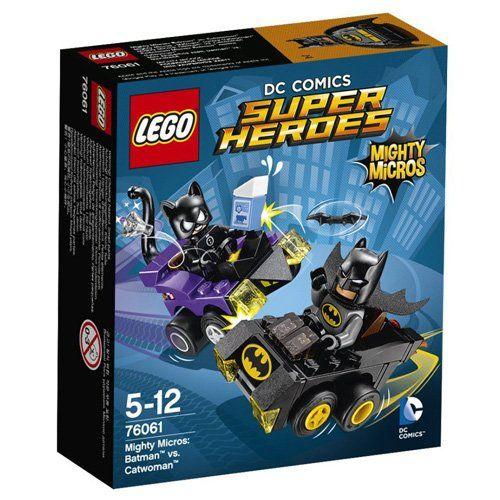 Lego MicroBatman Vs Catw Size Ea Lego Mighty MicroBatman Vs Catwoman 76061