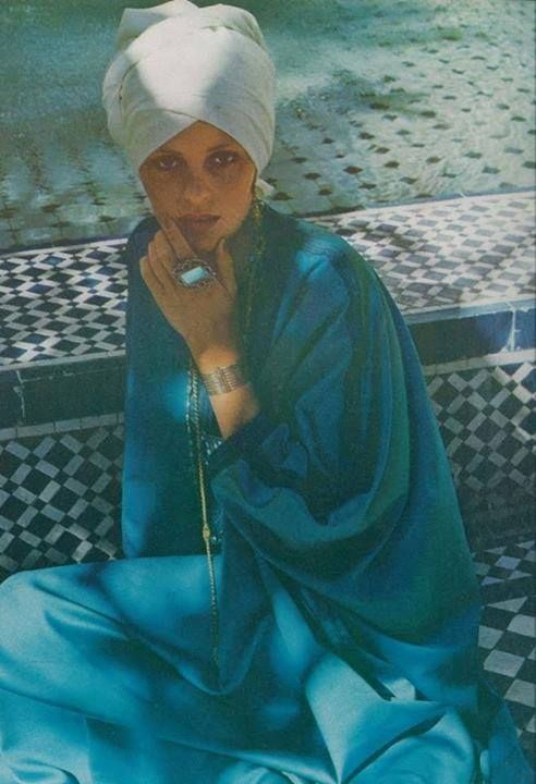 Vogue 1972- All Turquoise, All the Time