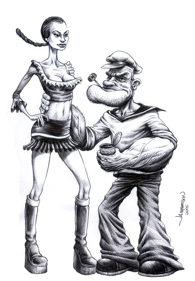 More Realistic Popeye - 21