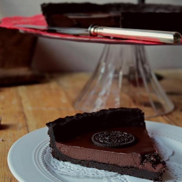 Um desejo súbito de chocolate? Esta tarte é uma deliciosa resposta