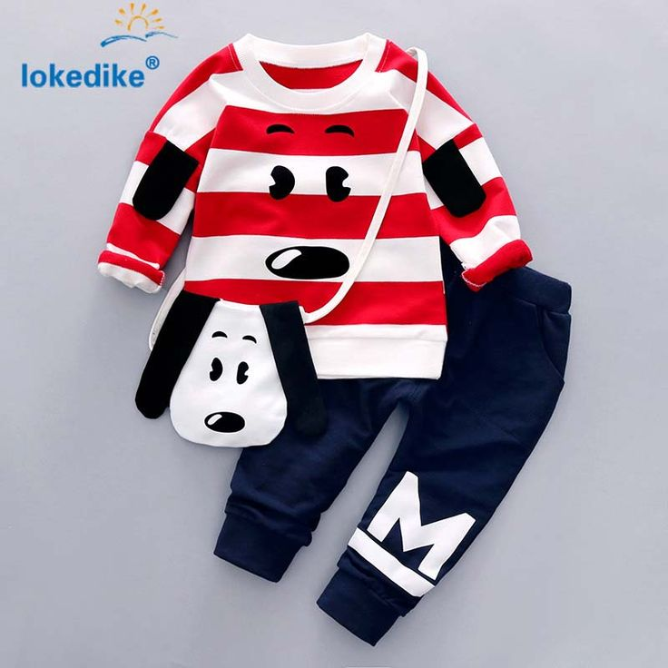 Children's Clothing Set 2017 New Fashion Hot Sale Autumn Spring Cotton Cartoon  litter Dog  Kids Clothes 2pcs T2781 //Price: €24.45 & FREE Shipping //   #fashion #baby #clothes #trendy #2017