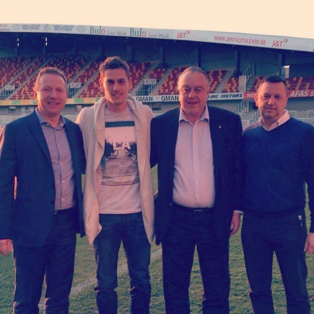 Nicolas Verdier tekent tot 2019 bij KV Mechelen. Proficiat! #kvmechelen