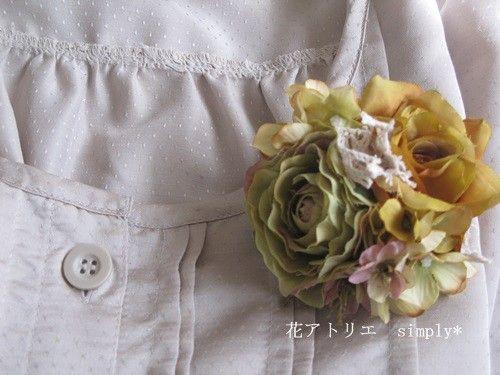 アートフラワー(造花)は枯れることなく、永久に咲き続けますので 長くご使用いただけます。 裏はダブルクリップになっていますので、卒業式・入学式だけでなく、ヘッ...|ハンドメイド、手作り、手仕事品の通販・販売・購入ならCreema。