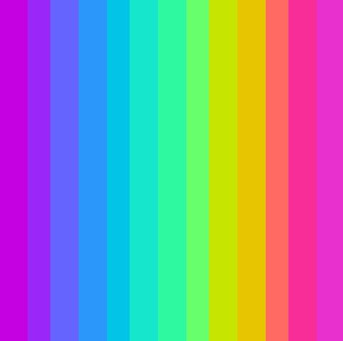 how to remember the colors of the rainbow