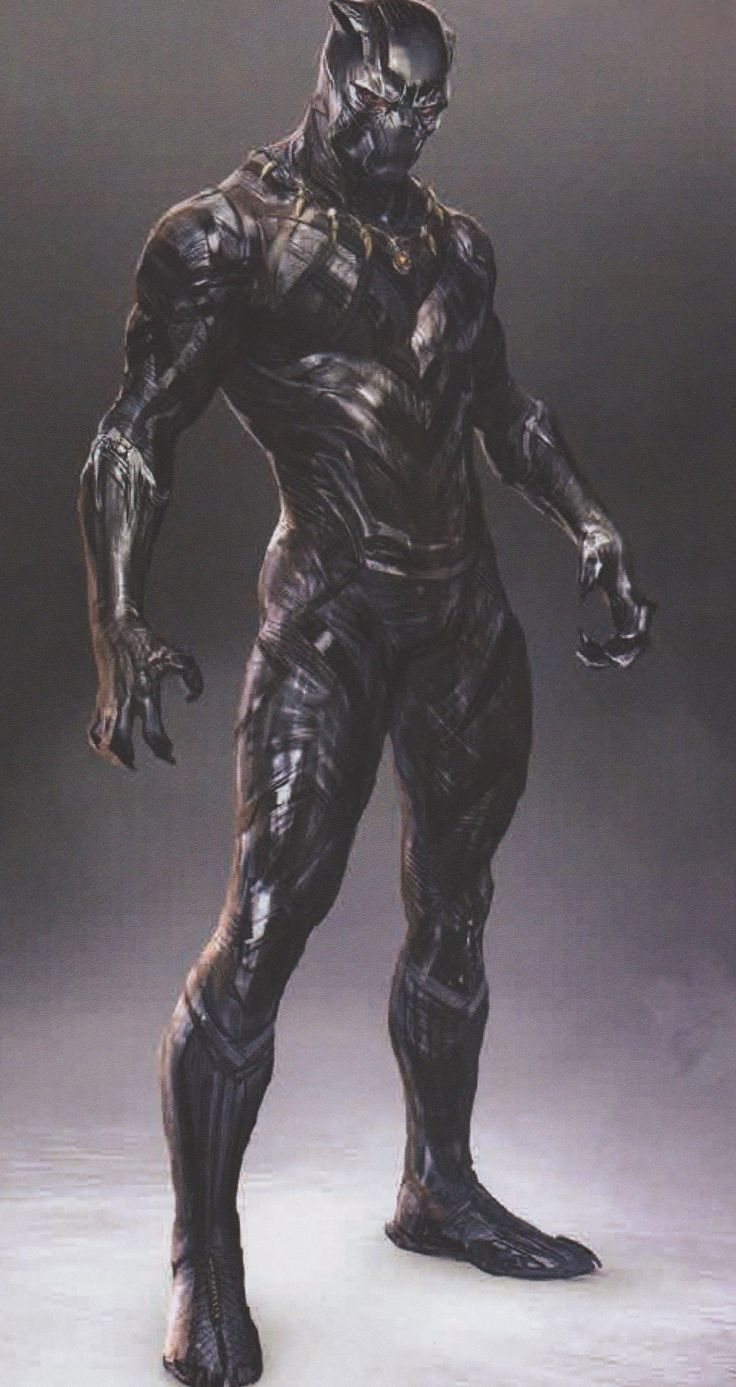 BLACK PANTHER: Amazing New Concept Art Shows Futuristic And Comic Accurate Takes On T'Challa's Suit - Part 1