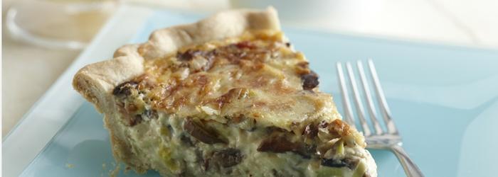 ... , Leek & Bacon Quiche | Recipe | Bacon quiche, Bacon and Quiche
