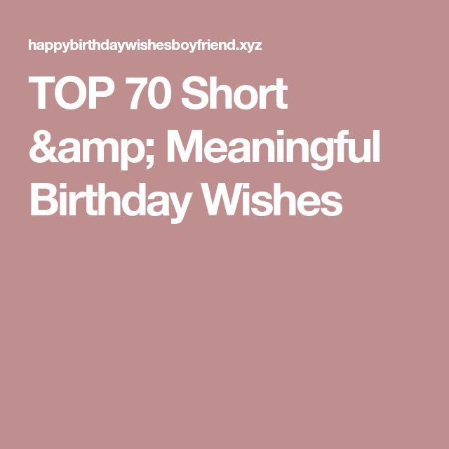 Best 25 Birthday Poems Ideas On Pinterest: Best 25+ Short Birthday Wishes Ideas On Pinterest