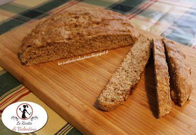 Le Ricette di Valentina: Soda bread con farina semintegrale