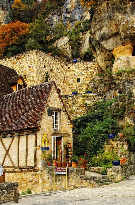 Mountain Village in France