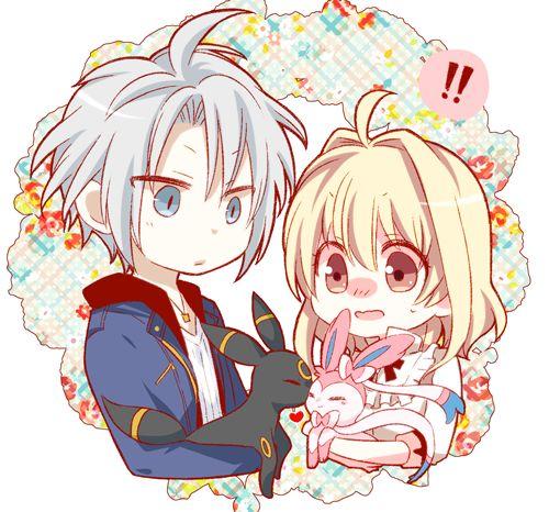 Idolish7 Gaku and Tsumugi
