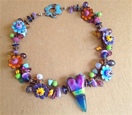 my heart necklace entered in the bead star contest voting is from may 11