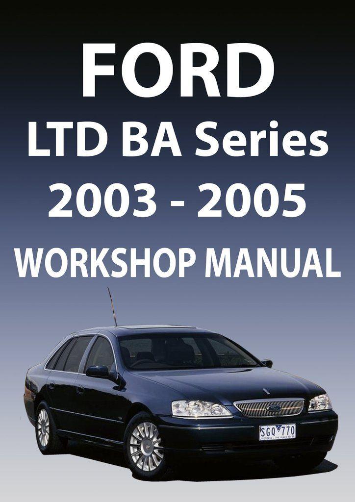 ford ba workshop manual pdf