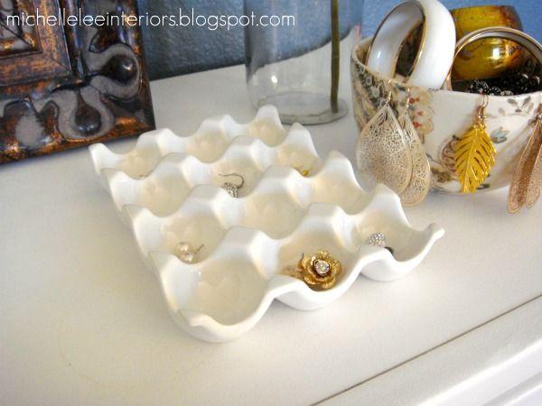 egg cratel jewelry organizer