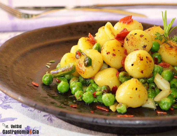 Recetas para disfrutar de los guisantes de temporada   Gastronomía & Cía