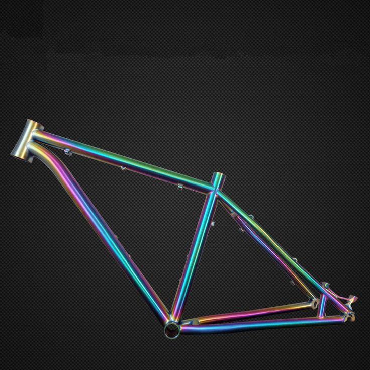 """Custom mtb bike frame / road bike titanium farme 26 """"/27.5"""" / 29 """"and bmx frame bike accessory"""