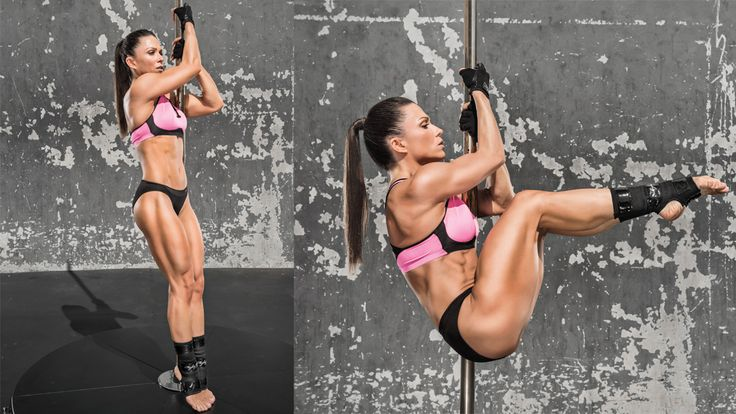 Get Oksana Grishinia's Pole Workout to find how the fitness competitor trains for Olympia