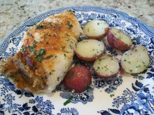 This fish recipe is delicious with any thin fish fillet. Every time Ed and I go to Westbrook Lobster, I order this dish, and this recipe is as close as I have come to replicating it. Tonight, I'm...