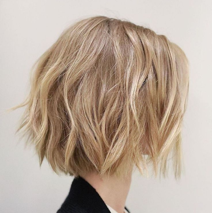 Cute chopped caramel blonde bob messy bob hairstyles