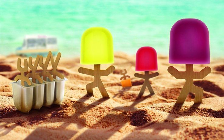 Lollypop Men Ice Lolly Moulds  #quirky #cool #cheap #presents #gift #mzube #gifts #shopping #sale #birthday   https://www.mzube.co.uk