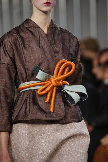 John Galliano for Maison Margiela SS 2016 Defile ,  Look 23,  Details