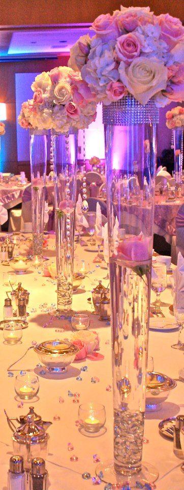 *༺✿* Wedding Deluxe Décor *✿༻ *Elegant Table * ༺✿* LadyLuxury *✿༻ *
