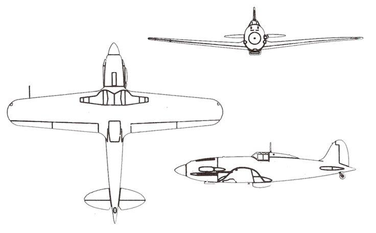 Macchi MC202 drawings   Son emploi commença en Libye en novembre 1941 et se poursuivit en Méditerranée, en Russie et dans les Balkans. Après l'armistice de septembre 1943, les Folgore furent utilisés par les Alliés, ainsi qu'un petit nombre par la République de Salo. Les derniers servirent pour l'instruction jusqu'en 1948. Wiki