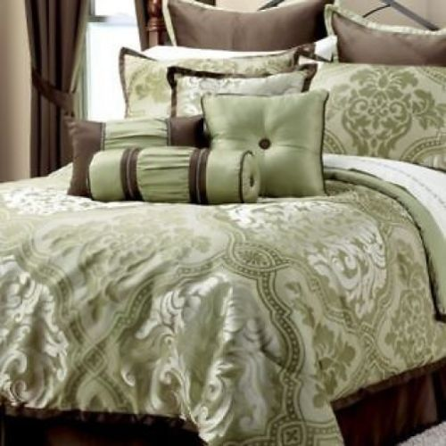 Mint Green And Brown Bedding Images