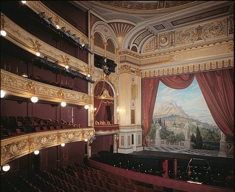 The Royale Danish Theatre, Copenhagen, Denmark. With David Ebershoff in The…