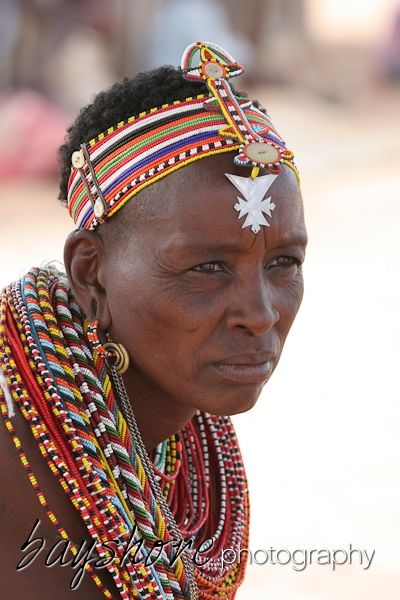 This beautiful woman kindly allowed this portrait of her during a visit to Umoja, Kenya's women only village.