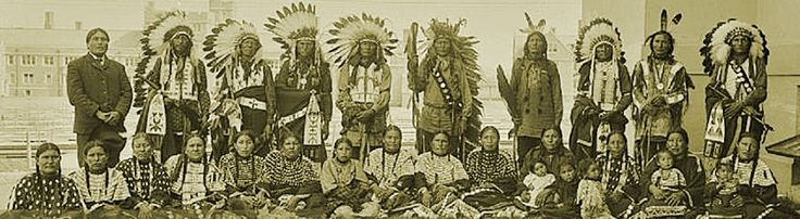 Sicangu Lakota group from Rosebud Reservation in South Dakota