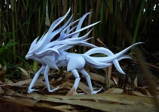 Paper brought to life. The amazing paper-craft skills of Richard Wong - ego-alterego.com