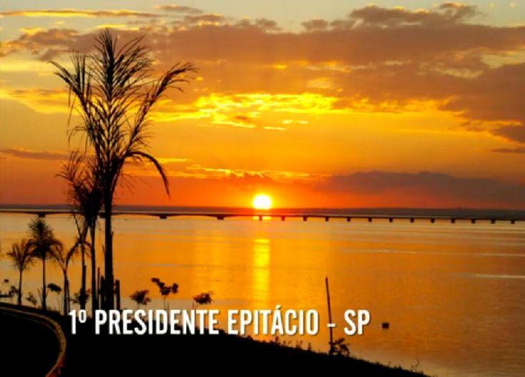 pôr do sol e estrelas | pôr do Sol observado desde a margem do Rio Paraná, em Presidente ...