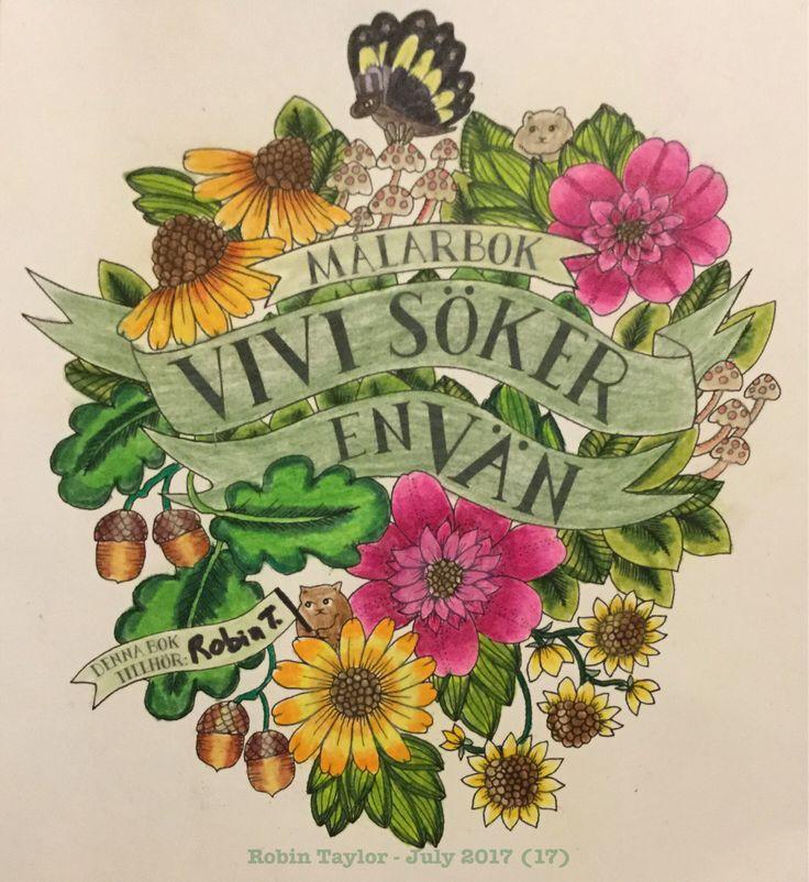 Vivi Söker Envän by Maria Trolle. Colored with Prismacolor Premiers. Colorist: Robin Taylor.