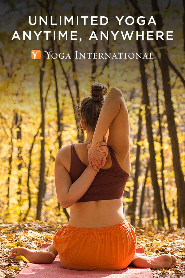 Fall In Love With Yoga.  Anytime, Anywhere.  Get Your First Month On Us!