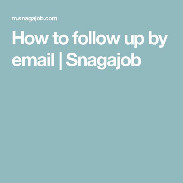 88 best Interview images on Pinterest Interview, Job offers and - interview follow up letter