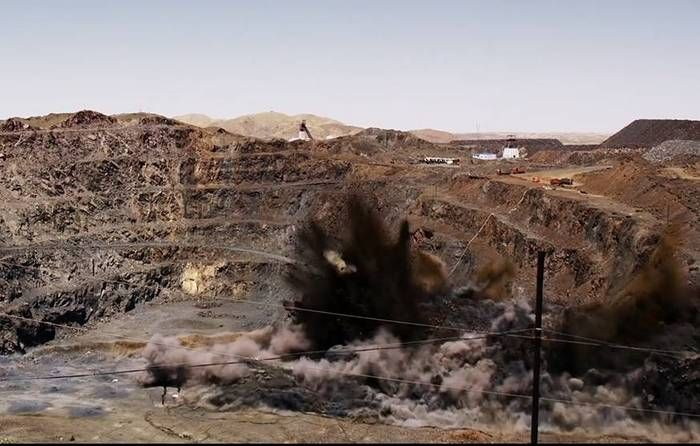 An explosive environmental message from Chinese documentarian Zhao Liang