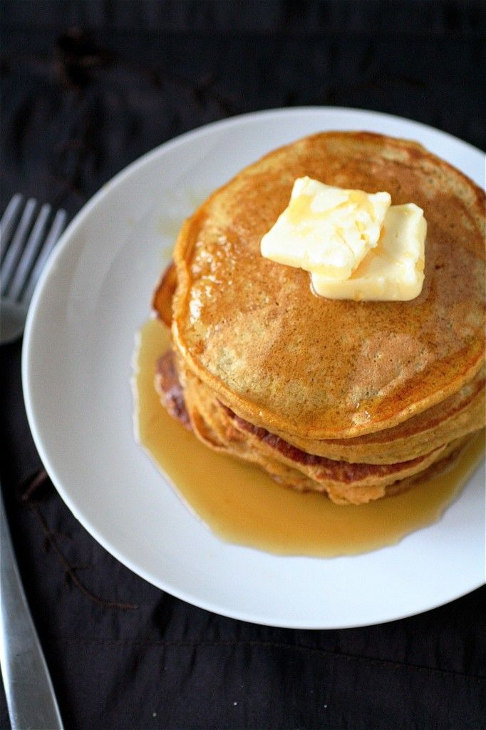YUM! Starting to get excited for fall. The Best Pumpkin Pancakes Ever | One Good Thing by Jillee