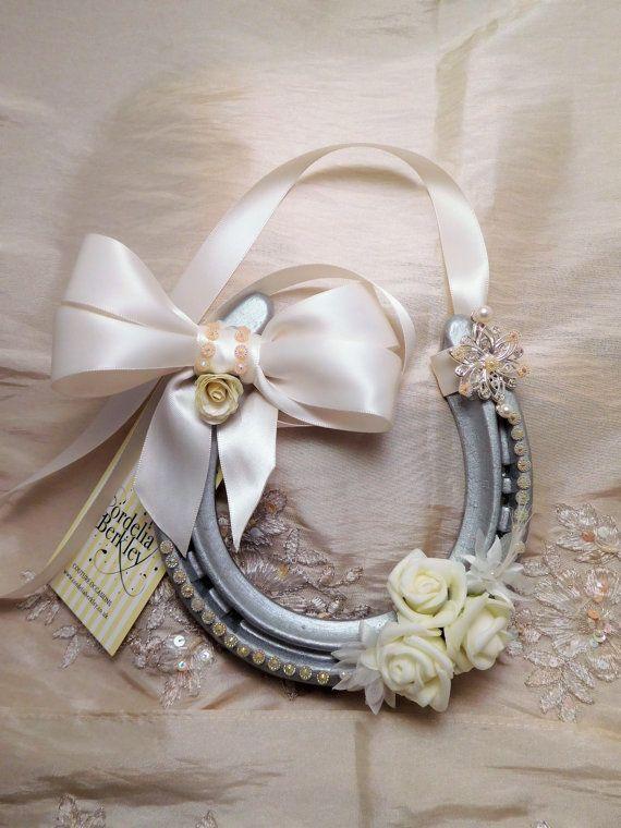 Real wedding horseshoe personalised. by CordeliaBerkley on Etsy