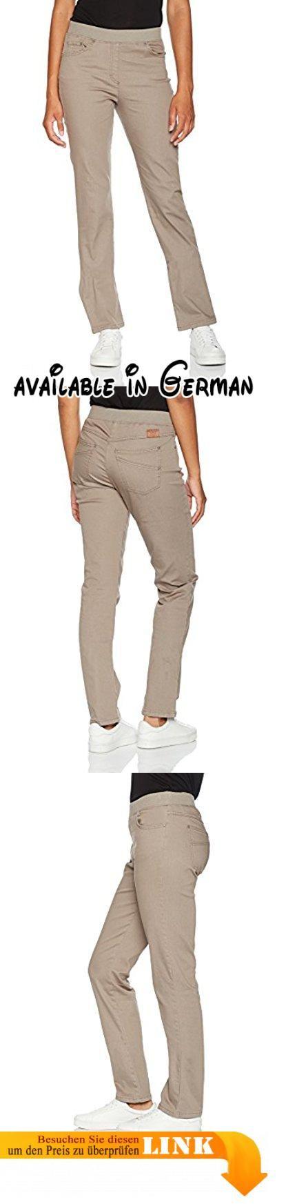 Raphaela by Brax Damen Jeans Pamina (Slim) 17-6227 Beige (Taupe 53), W34/L30 (Herstellergröße: 44K). Damenhose, Five Pocket, aufgesetztes Stitching auf den Gesäßtaschen, Verschluss: Schlupf, Slim, schlanke Silhouette, schmaler Oberschenkel. super Dynamic, Mix aus hochwertiger Baumwolle, Elasthan und Polyester, extrem hohe Elastizität, haut und tragefreundlich #Apparel #PANTS